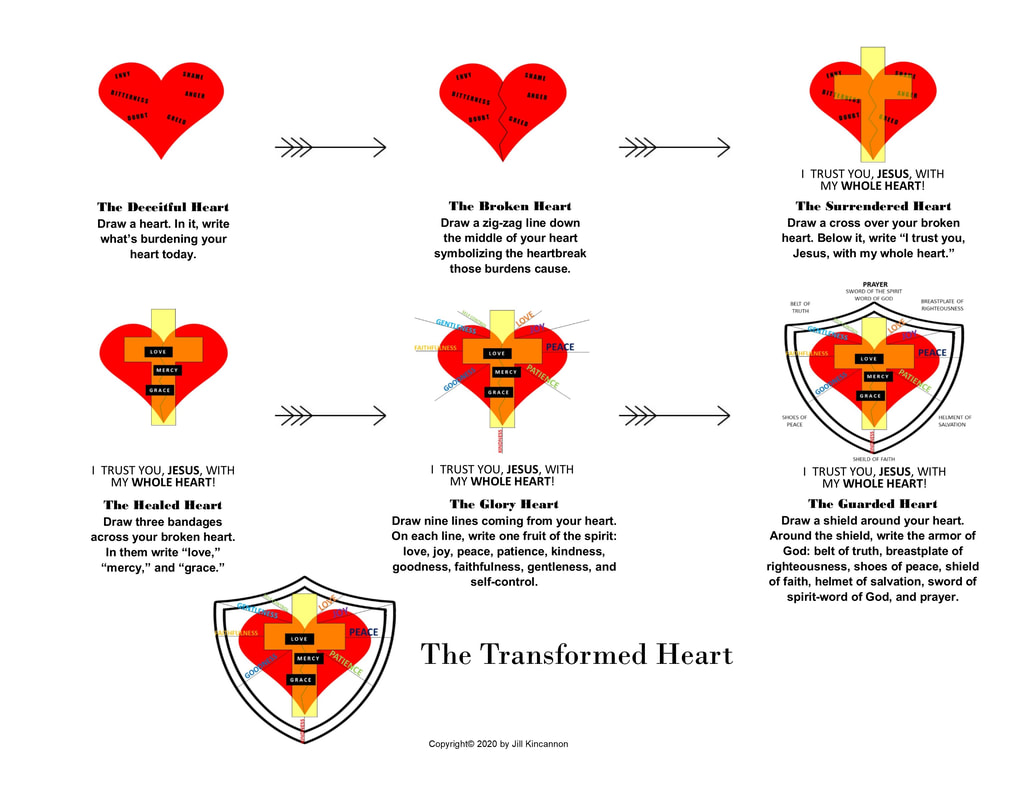 Steps to a Heart Transformed